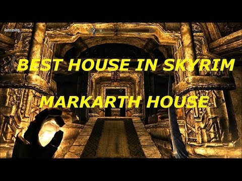 Best House in Skyrim Tutorial - Markarth House! (Vlindral Hall)