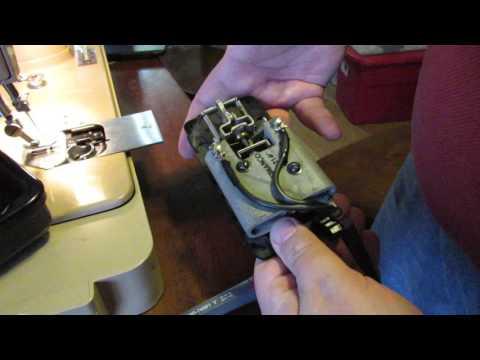 Singer 401A Slant-o-matic pedal service and adjustment