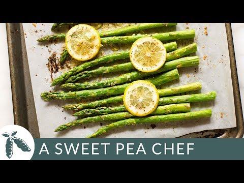 Lemon Roasted Asparagus | A Sweet Pea Chef