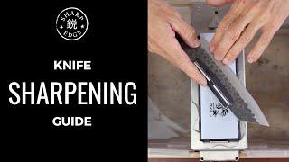 How To Sharpen a Kitchen Knife - Beginner