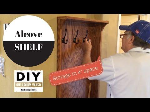 Building  Alcove shelves
