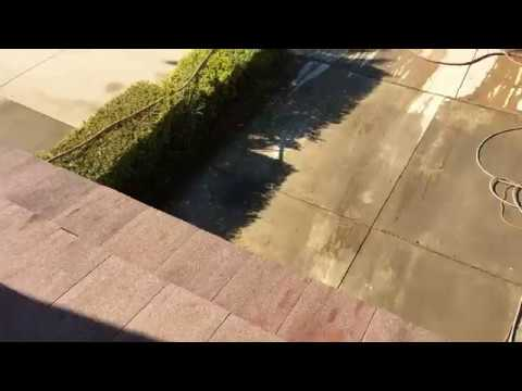 Orange County Roof Cleaning Services | Jetstream Power Wash - Tile Roof Algae Removal