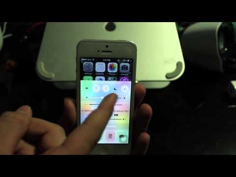 How To Turn On and Off Auto Rotation on iOS 8