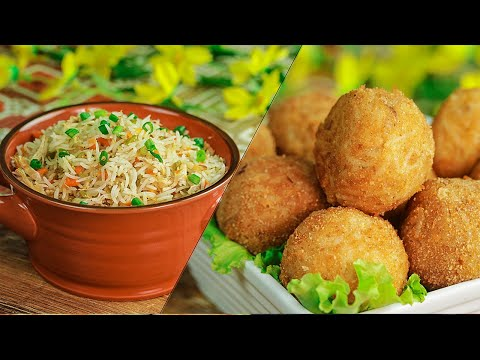 Leftover Rice Recipes | 2 Ways To Use Leftover Rice By SooperChef