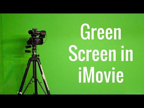 Green Screen in iMovie for Yosemite