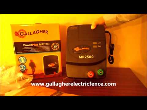 Gallagher MR2500 Electric Fence Charger