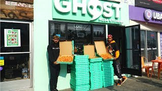 WE BOUGHT 100 BOXES OF PIZZA FOR THE HOMELESS!!!!