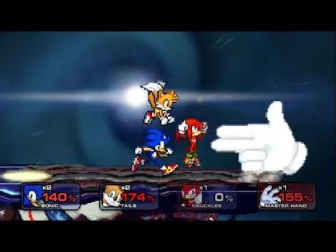 Sonic Heroes vs Master Hand SSF2 - PakVim net HD Vdieos Portal