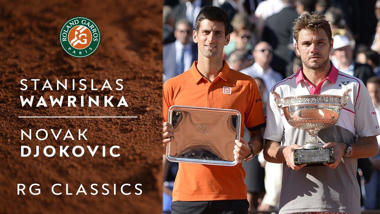 Stanislas Wawrinka vs Novak Djokovic - 2015   Roland-Garros Classics