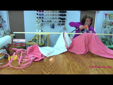 How To Make A Gathered Bed Skirt