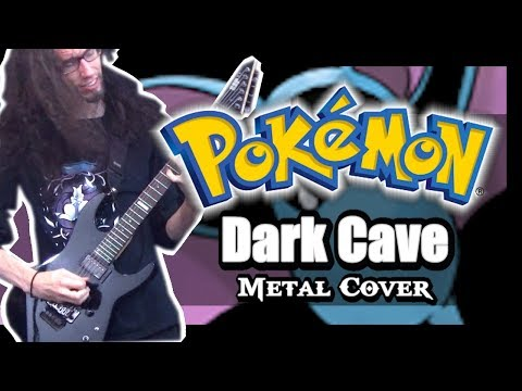 Pokemon Gold Silver Crystal - DARK CAVE || Metal Cover by ToxicxEternity