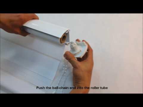 THD Zebra Roller Shade Instruction video English