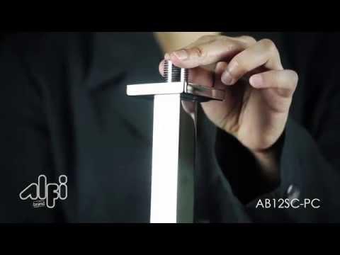 Square Ceiling Shower Arm AB12SC-PC