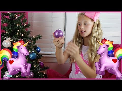 How to Make Sparkly Glitter Unicorn Holiday Ornaments