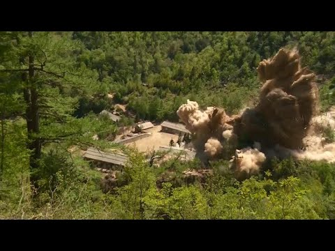 Firsthand look at North Korea's nuclear test site demolition show