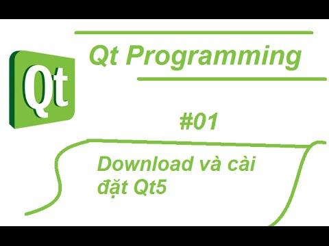 Cách Download và Cài đặt Qt 5
