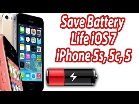 How To Save Battery Life iPhone 5s And 5c - iOS 7 Battery Saving Tips