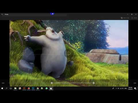 Cut trim video without software in windows 10