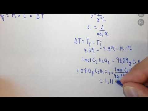 7.2d Calculating molar heat capacity