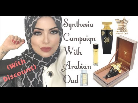 Working With Arabian Oud For Synesthesia Campaign PLUS Discount