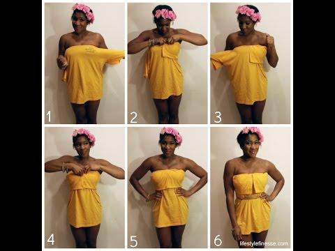 How to Make a T-Shirt Dress