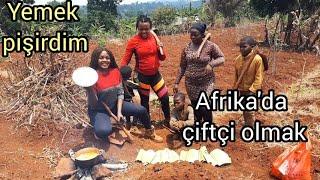 Afrika'nın  bir köyünde Uyunmak ve YAŞAM -KAMERUNDA /AFRIKADA ÇİFTÇI OLMAK