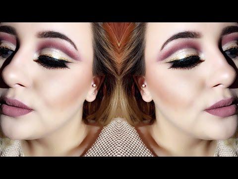 Instagram Baddie Makeup: CUT CREASE!!!!