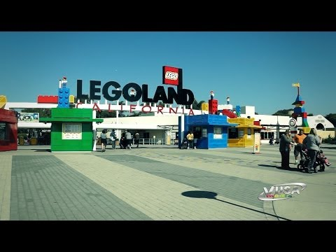 Legoland California Rides and Attractions Part 1