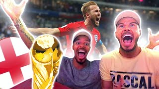 ENGLAND VS TUNISIA - 2018 FIFA WORLD CUP RUSSIA (Amazing LIVE Reaction)