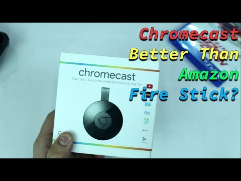 Google Chromecast in 2018 | It's Better Than Amazon Fire Stick??