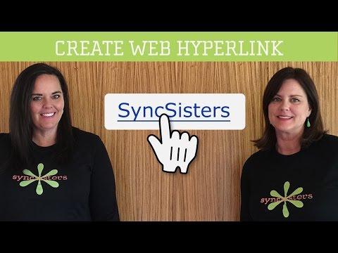 Create Web Hyperlink - Mac OS