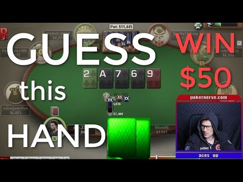 MTT Hand Review and Guess the Hand ($50 up for grabs) | PokerNerve | 2018