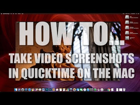 How to take screenshots in Quicktime on the Mac - Mac tips