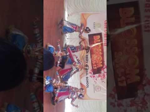 Malappuram district kiddies fest winner Meghna Lakshmi and team...Velayudha..St Joseph School Puthen