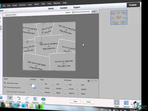 Learn how to use Photoshop Elements 11 - Part 63 - How to Create a Photo Collage