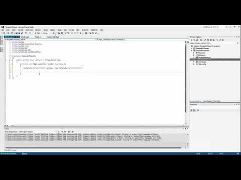 ASP net Web Application Consuming WCF Web Service
