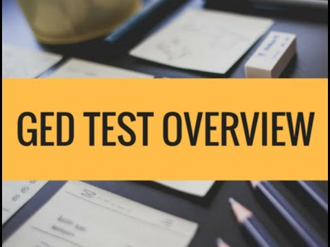 2018 GED Test Overview - Everything about GED in under 2 Minutes