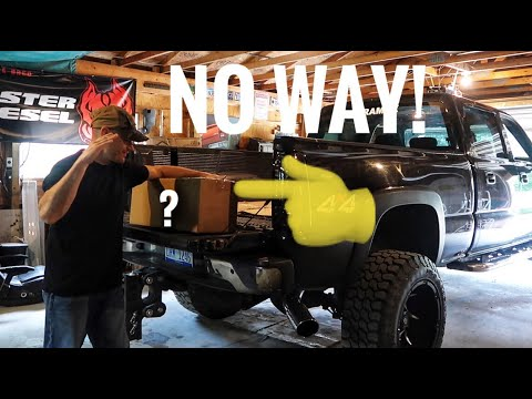 Unboxing! New look for the Duramax *Sinister Diesel hooked me up*