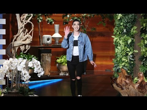 First Male CoverGirl James Charles Meets Ellen