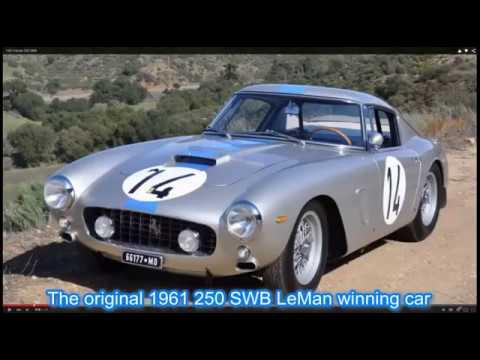 Ferrari 250 GT SWB Build Part 1 (LeMan 1961)