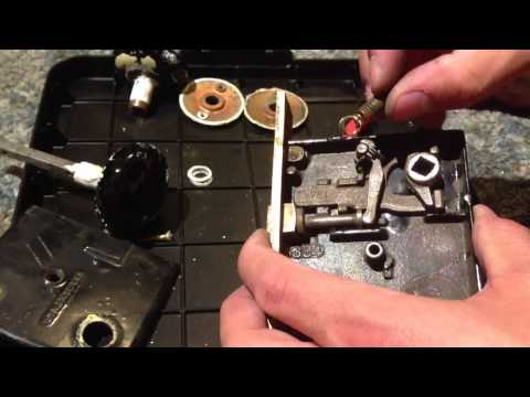 Removal and spring repair for vintage Sargent door latch and lock