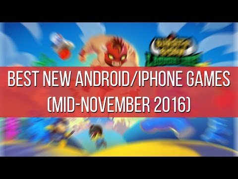Best new Android and iPhone games (mid-November 2016)