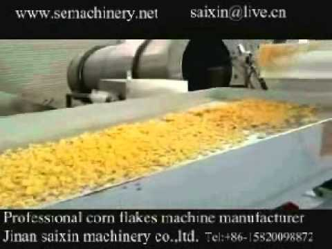 Corn flakes machine india,corn flakes making machine,corn flakes production line