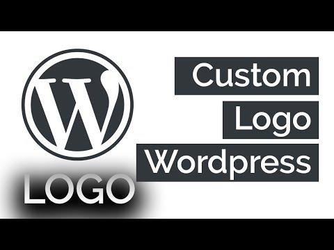 How To Add a Custom Logo Wordpress 2018