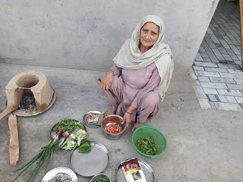 VEGETABLE BIRYANI or pulao recipe Veg biryani recipe   veg village food   vegetarian 