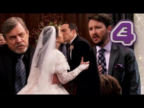 Mark Hamill Breaks Down When Sheldon & Amy Get Married!! | The Big Bang Theory