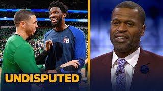 Stephen Jackson reacts to Celtics vs. Sixers, talks Warriors