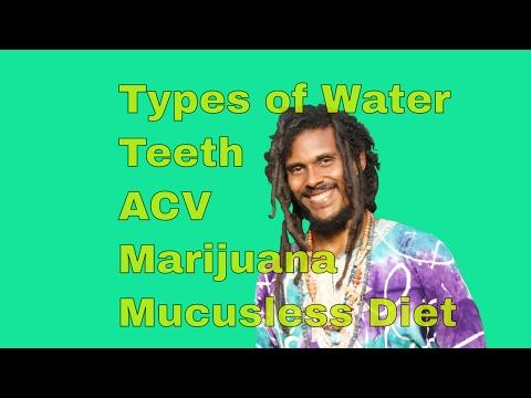 Q&A #2 - Best Types of Water, Teeth, Marijuana, Apple Cider Vinegar
