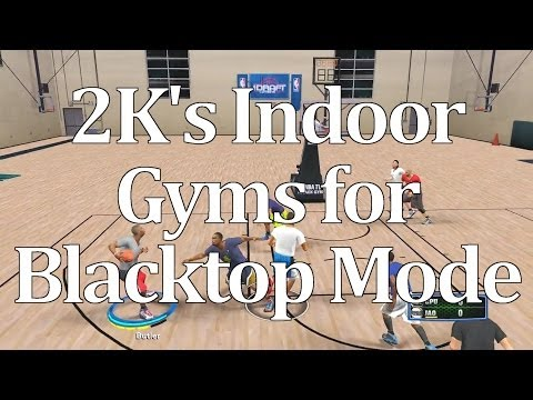 2K's Secret Indoor Gyms for Blacktop Revitalization - NBA 2K14 PC