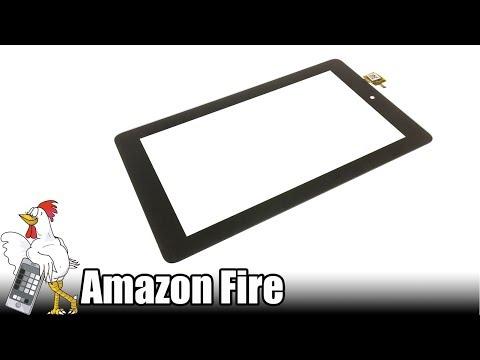Guía del Amazon Fire: Cambiar digitalizador